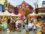Market in Town