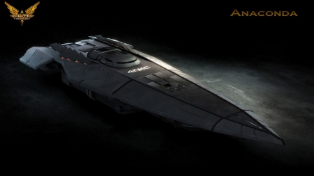 Anaconda - ship, rocket, Anaconda, space