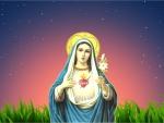 Inmaculate heart of Saint Mary