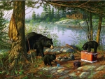Breakfeast Time Bears