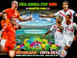 NETHERLANDS - COSTA RICA QUARTER-FINAL WORLD CUP 2014