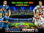 FRANCE - GERMANY  QUARTER-FINAL WORLD CUP 2014