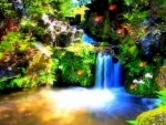 -Splendid Waterfall-