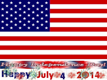 Happy July 4 2014 to our American members - 2014, july, American, happy, friends