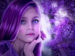 Beauty in Purple for Dreamer Girl (Luiza)