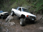 TOYOTA PICKUP WAR AT THE MOUNTAIN