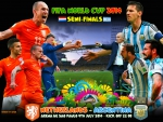NETHERLANDS - ARGENTINA  SEMI-FINALS WORLD CUP 2014
