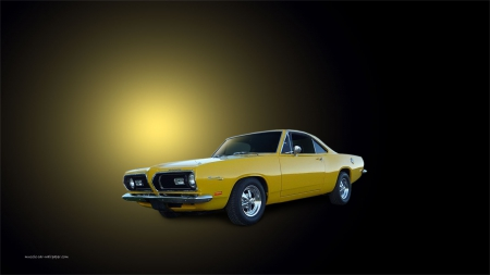 Barracuda - auto, plymouth, custom, car