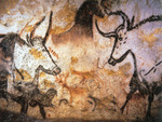 Caves of Lascaux - Wall art