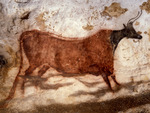 Wall art in the Caves of Lascaux