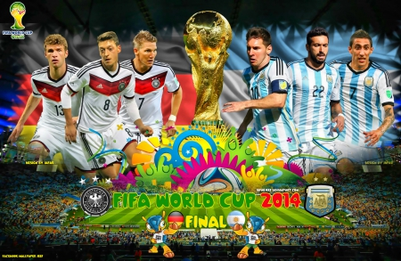 FIFA WORLD CUP 2014 FINAL - world cup 2014 wallpaper, mesut ozil wallpaper, thomas muller, lionel messi, lavezzi, Germany World Cup wallpaper, argentina, bayern munchen, football, messi wallpaper, mesut ozil, dimaria, messi, world cup wallpaper, world cup brazil 2014 wallpaper, world cup 2014, fifa world cup, WORLD CUP 2014 FINAL wallpaper