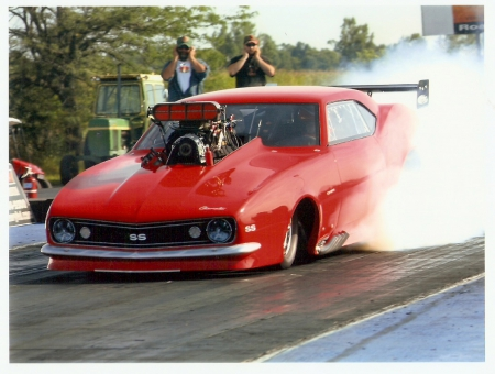 Chevy Funny-Car - chevy, hot rod, funny car, nhra