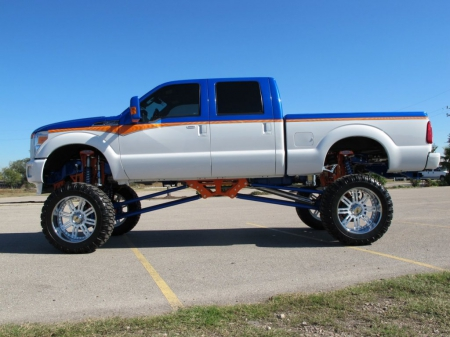 Kustom High Rider - lifted, trickout, truck, pickup