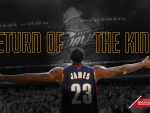 King James Goes Home
