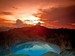 Sunrise At Kelimutu Crater Lake
