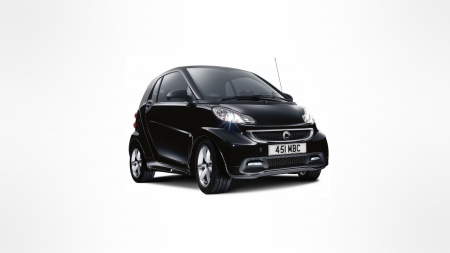 2013 Smart Edition - cars, Smart, vehicles, white background, black cars