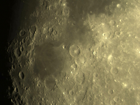 moonscape - moon, craters, nature, space