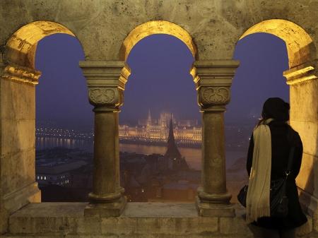 Buda Castle Budapest Monuments Architecture Background