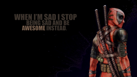 Deadpool!!!!! - badass, marvel, cool, deadpool, Awesome, superhero