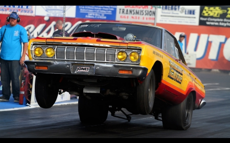 Plymouth Drag Racing - plymouth, crag racing, funny car, nhra