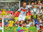 Mario Gotze world cup 2014 wallpaper