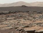 Martian lake