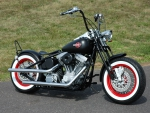 Red Wheel Bobber