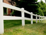 Long Country Fence