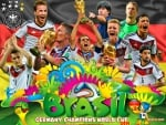 GERMANY WORLD CUP 2014 WINNER