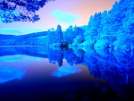 Blue Forest Silent Lake