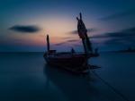 Boat In Dark
