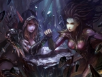 Sylvanas Windrunner and Sarah Kerrigan