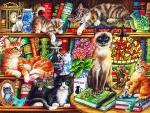 Literaric Cats