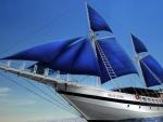 the gorgeous sail yacht palau siren