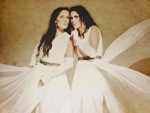 Tarja Turunen and Sharon den Adel
