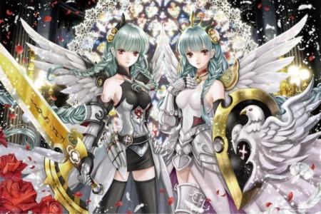 Angel twins anime
