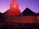 Sphinx at Sunset