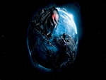 AVP - Alien vs Predator - World Earth Globe