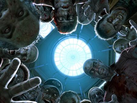 Zombie Attack - zombie, videogame, people, death, game, contaminated, capcom, hospital, widescreen, dead rising, wds, virus