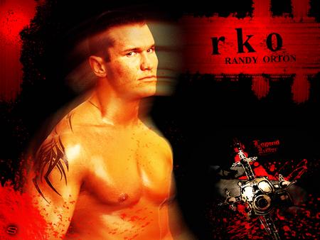 Randy Orton Legend Killer Logo RANDY ORTON OBL...