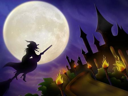 Halloween is coming - treat, eve, haunted house, trick, occasion