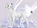 whitw anime cheetah