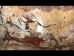 Paleolithic wall art in Lascaux 2