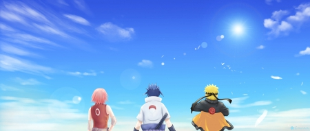 Team 7 - pretty, sasuke, uchiha, sweet, nice, spiky hair, naruto uzumaki, anime, uzumaki, shippuuden, beauty, anime girl, haruno sakura, ninja, sakura, uchiha sasuke, lovely, sky, short hair, naruto, blond, guy, uzumaki naruto, naruto shippuuden, beautiful, sakura haruno, haruno, black hair, blue, shinobi, female, cloud, male, blonde hair, blond hair, boy, girl, sasuke uchiha, pink hair, scene