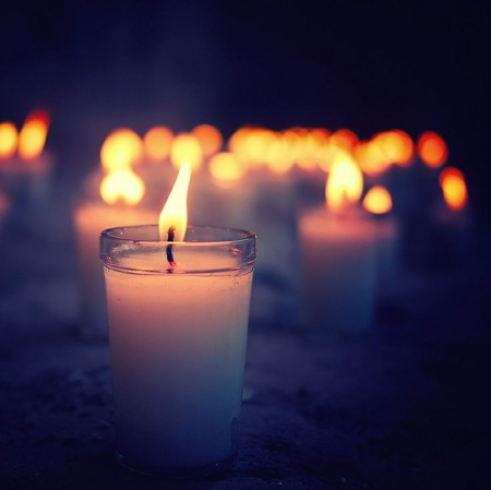 The lights of the heart ♥ - flame, glimmer, candles, lights