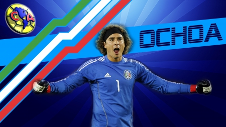 Guillermo ochoa soccer sports background wallpapers on - Guillermo ochoa wallpaper ...