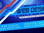 Strahla Web Dizajn Wallpaper