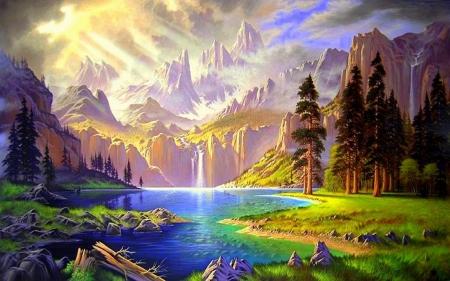 Paradise On Earth Wallpaper