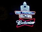 NFL Budweiser Neon
