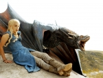 Game of Thrones - Daenerys and Drogon